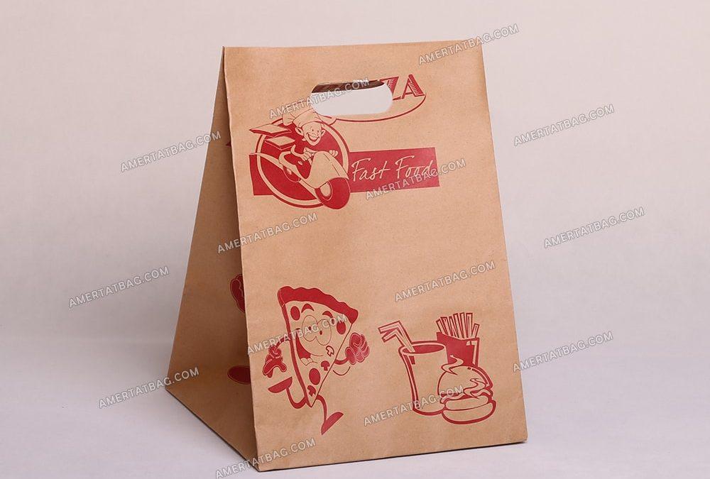 پاکت کاغذی فست فود | پاکت پیتزا