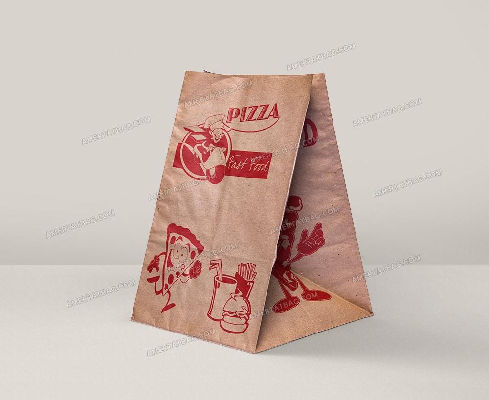 پاکت پیتزا پاکت کرافت آماده پاکت ساندویچ فست فود