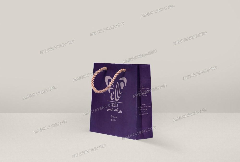 ساک دستی جواهری پاکت طلا فروشی و زیورآلات