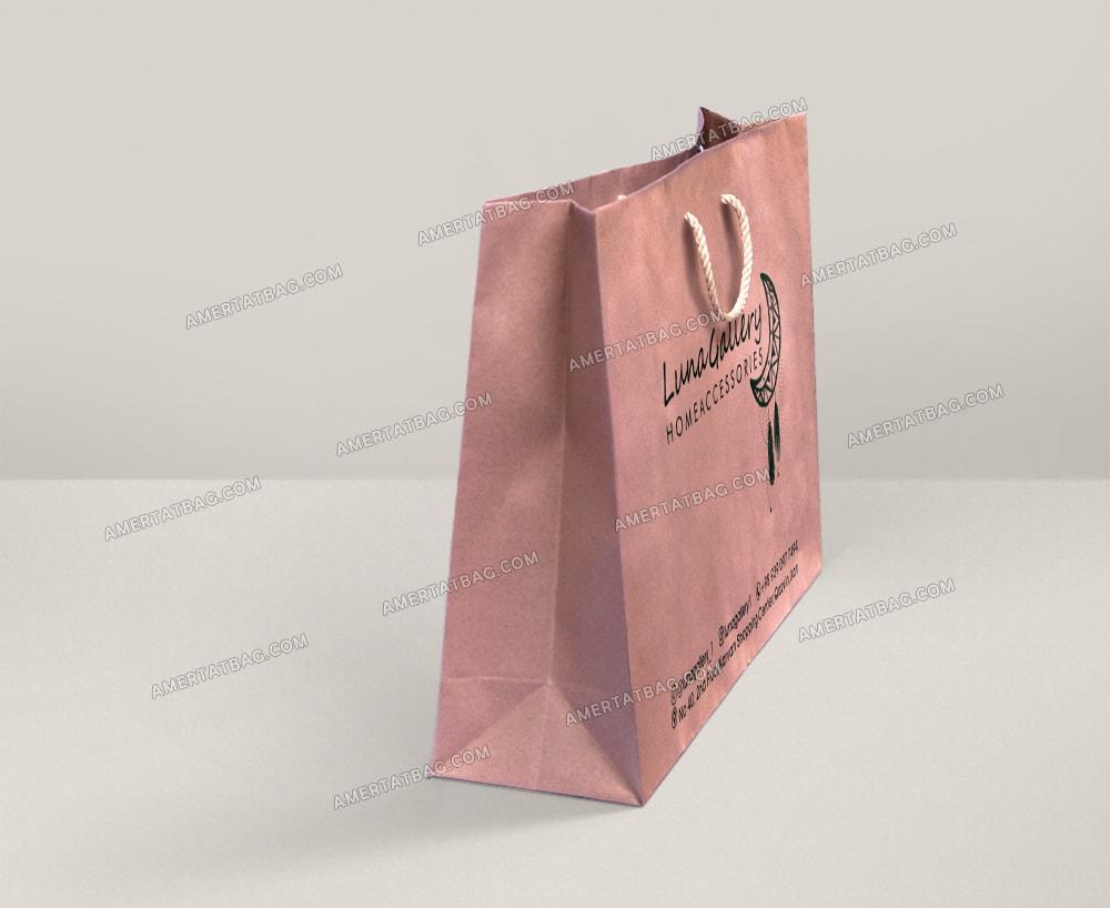 خرید ساک دستی کاغذی کرافت