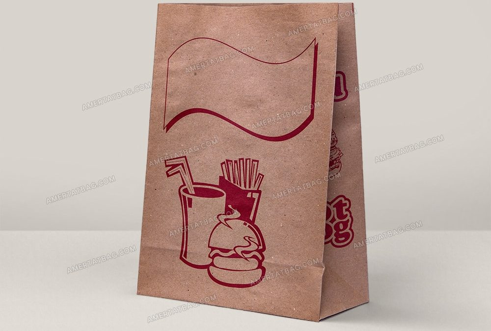 پاکت ساندویچ ( پاکت کرافت آماده) سایز عمومی