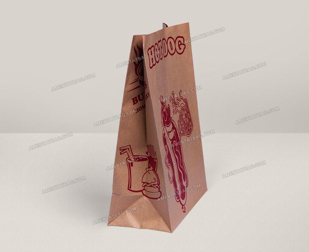 پاکت ساندویچ ( پاکت کرافت آماده) سایز عمومی 2